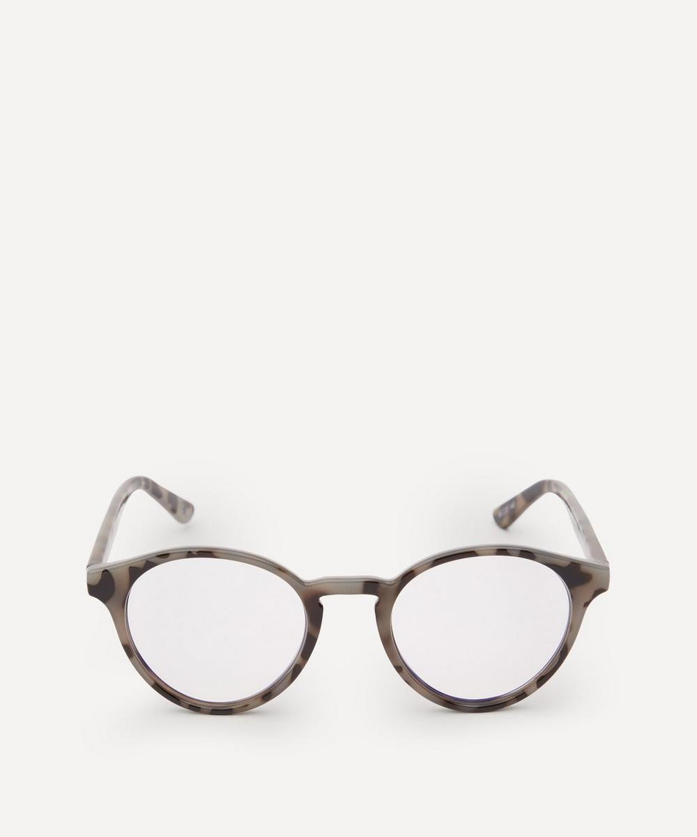 Le Specs - Whirlwind Round Blue Light Glasses