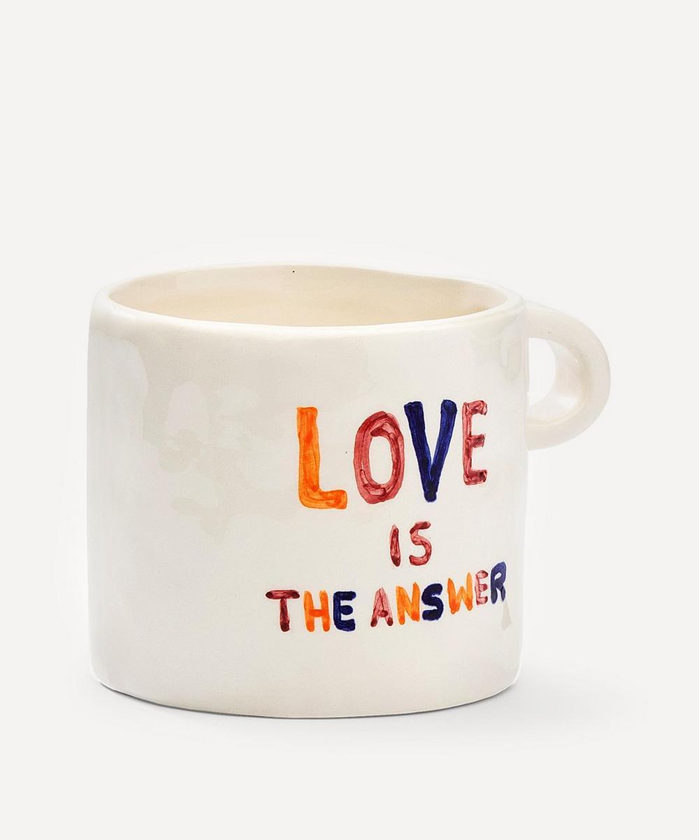 Anna + Nina - Love Is The Answer Ceramic Mug