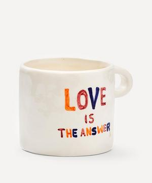 Love Is The Answer Ceramic Mug