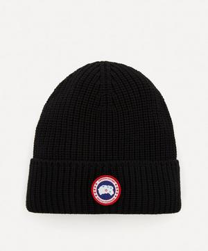 Arctic Disk Ribbed Toque