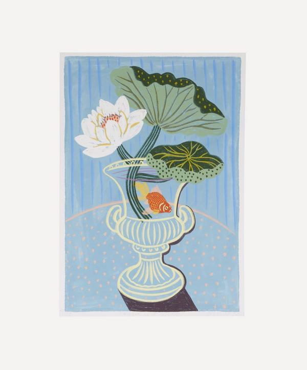 Camilla Perkins - Water Lily Study Unframed A4 Giclée Print
