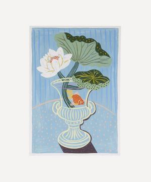 Water Lily Study Unframed A4 Giclée Print