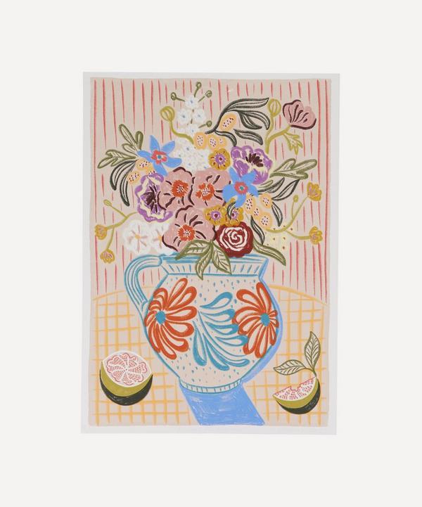 Camilla Perkins - Flowers For Summer Unframed A3 Giclée Print