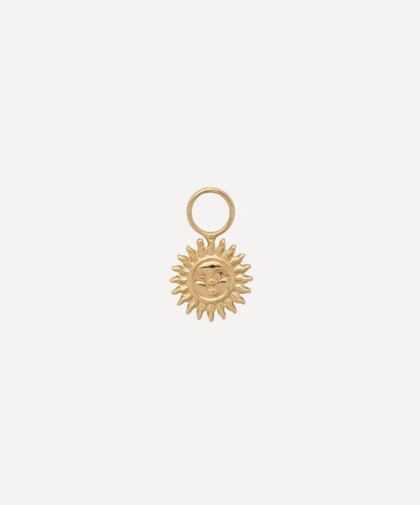 Anna + Nina - Gold-Plated Arizona Sun Earring Charm