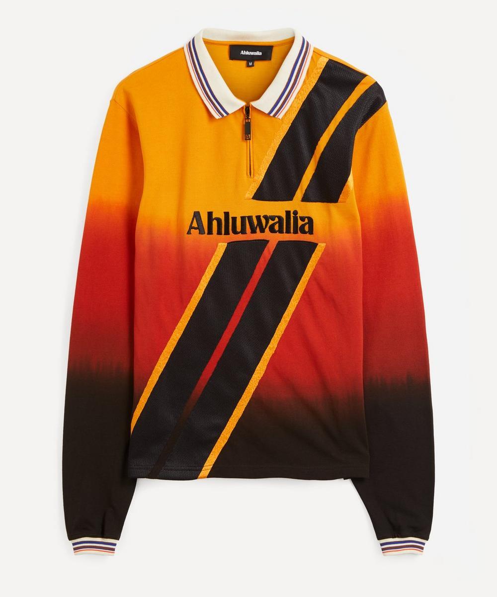 Ahluwalia - Deep Heat Embroidered Polo Shirt