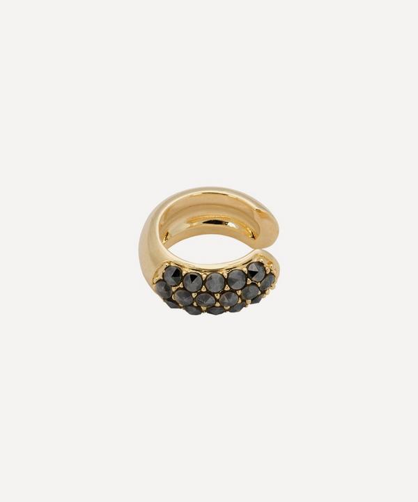 Anna + Nina - Gold-Plated Starlit Sky Marcasite Ear Cuff