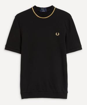 Crew-Neck Piqué T-Shirt