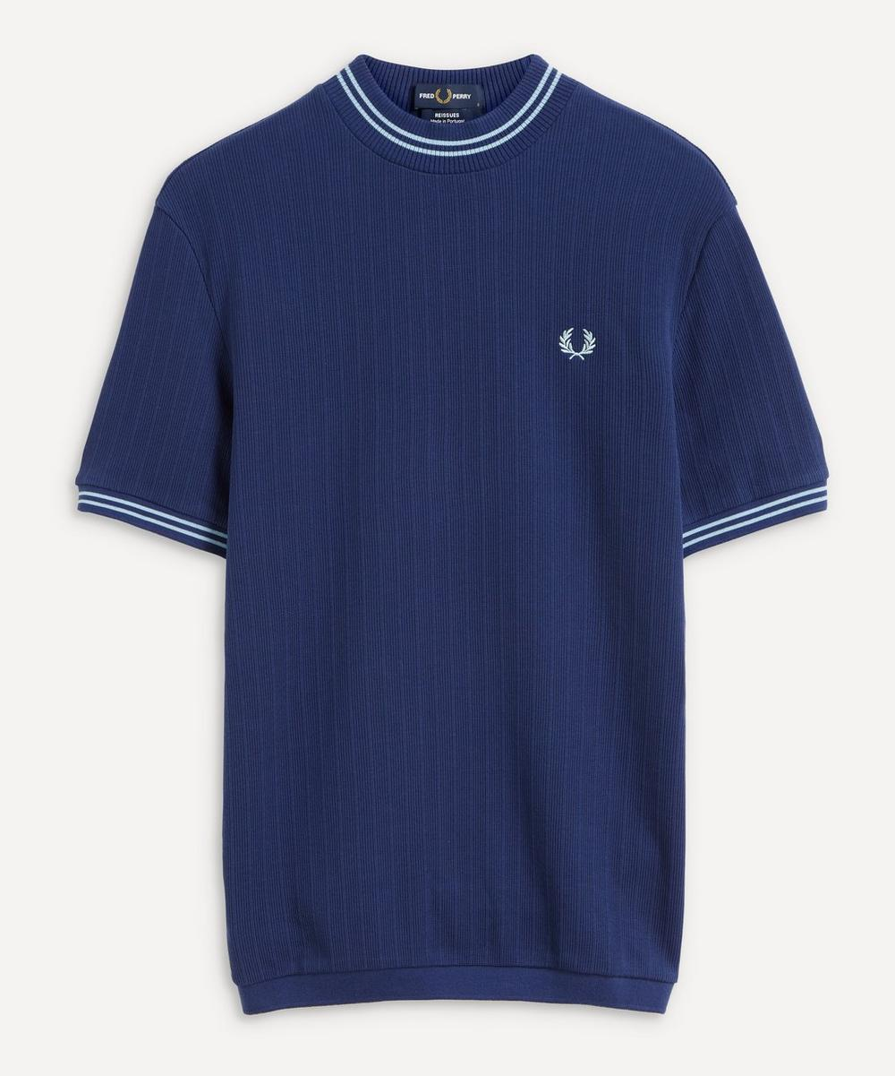 Fred Perry - Ribbed Crew-Neck T-Shirt