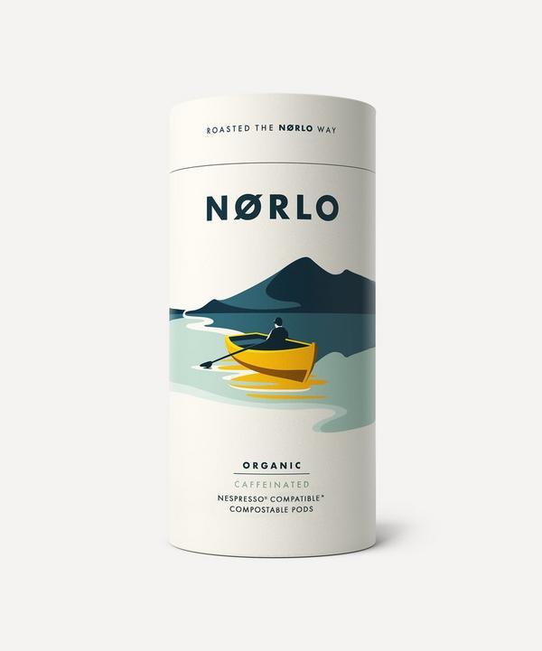 Norlo - Organic Caffeinated Compostable Coffee Pods x15