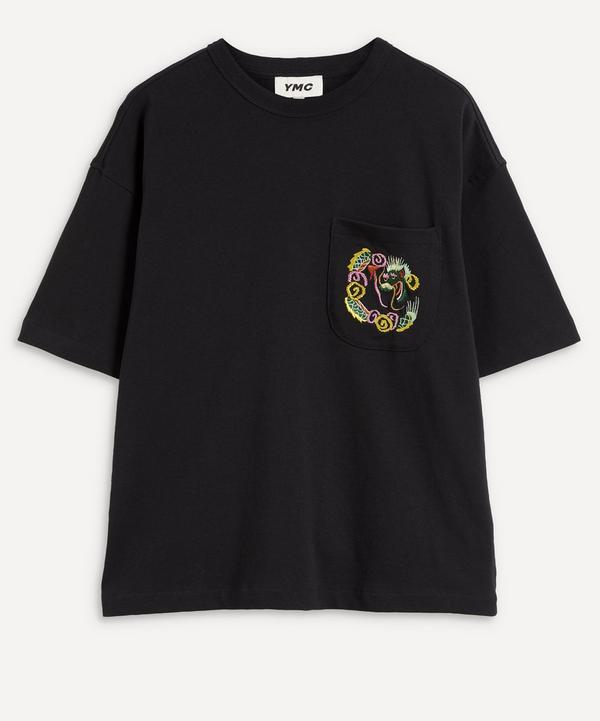 YMC - Dragon Embroidered T-Shirt