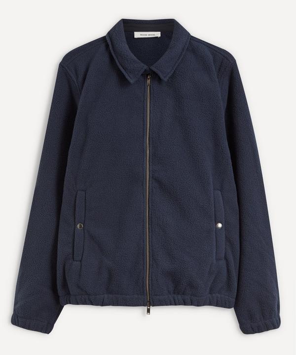 Wood Wood - Alister Seal Logo Fleece Jacket