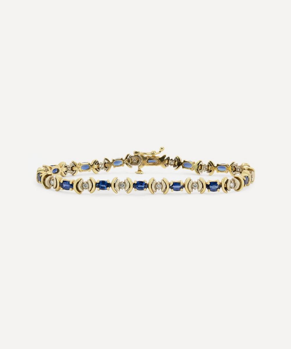 Kojis - 14ct Gold Fancy Sapphire and Diamond Bracelet