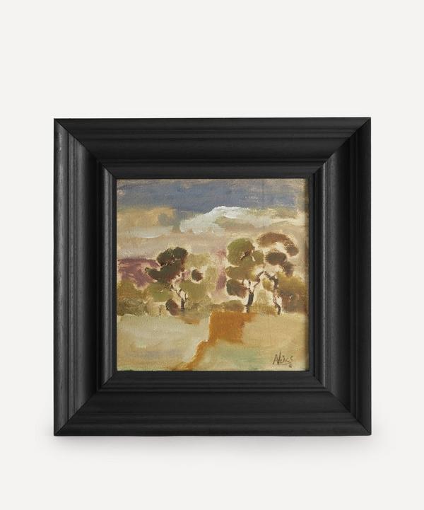 Andrew Viner - Blue Sky Over Trees Original Framed Painting