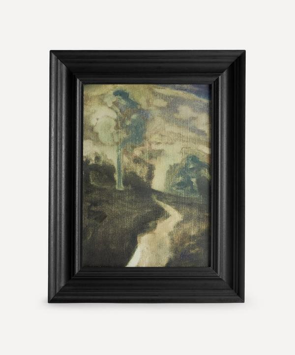 Andrew Viner - Moonlight Woodland Original Framed Painting