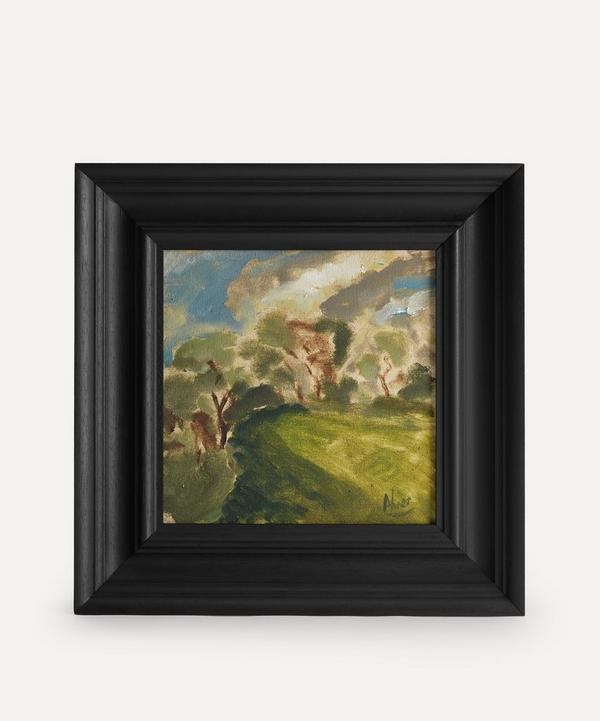 Andrew Viner - Sunlight Trees and Fields Westfield Original Framed Painting
