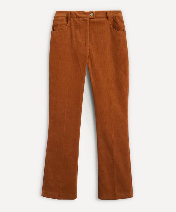 ALEXACHUNG - Corduroy Gentle-Flare Trousers