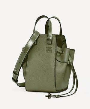 Mini Hammock Drawstring Leather Bag