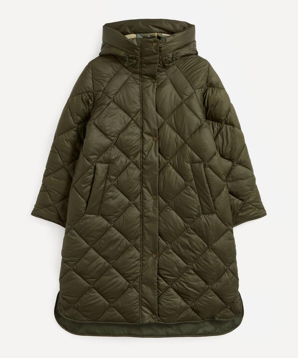 Barbour - Sandyford Long Quilted Coat