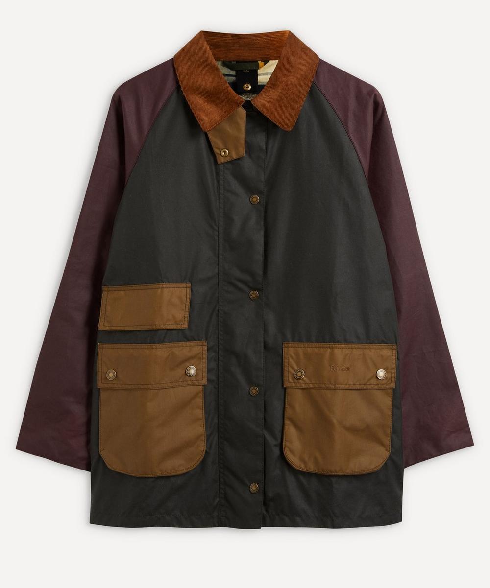 Barbour - Luss Colour-Block Wax Jacket