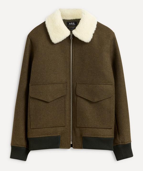 A.P.C. - Ben Wool-Blend Jacket