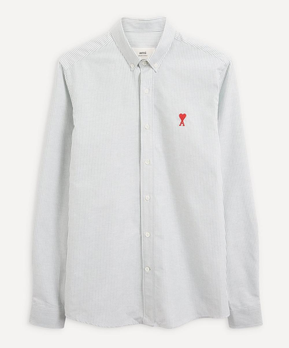 Ami - Embroidered Logo Shirt