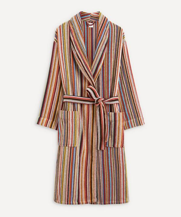 Paul Smith - Signature Stripe Cotton Dressing Gown