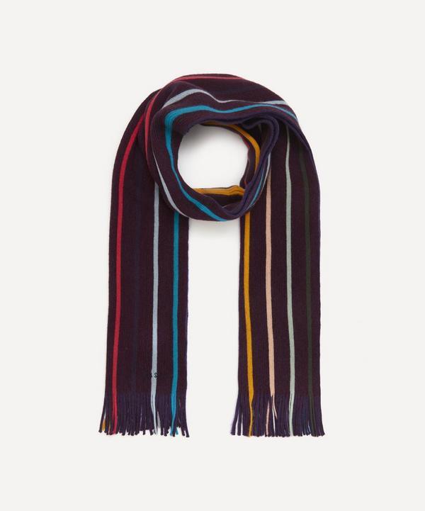 Paul Smith - Artist Stripe Wool Scarf