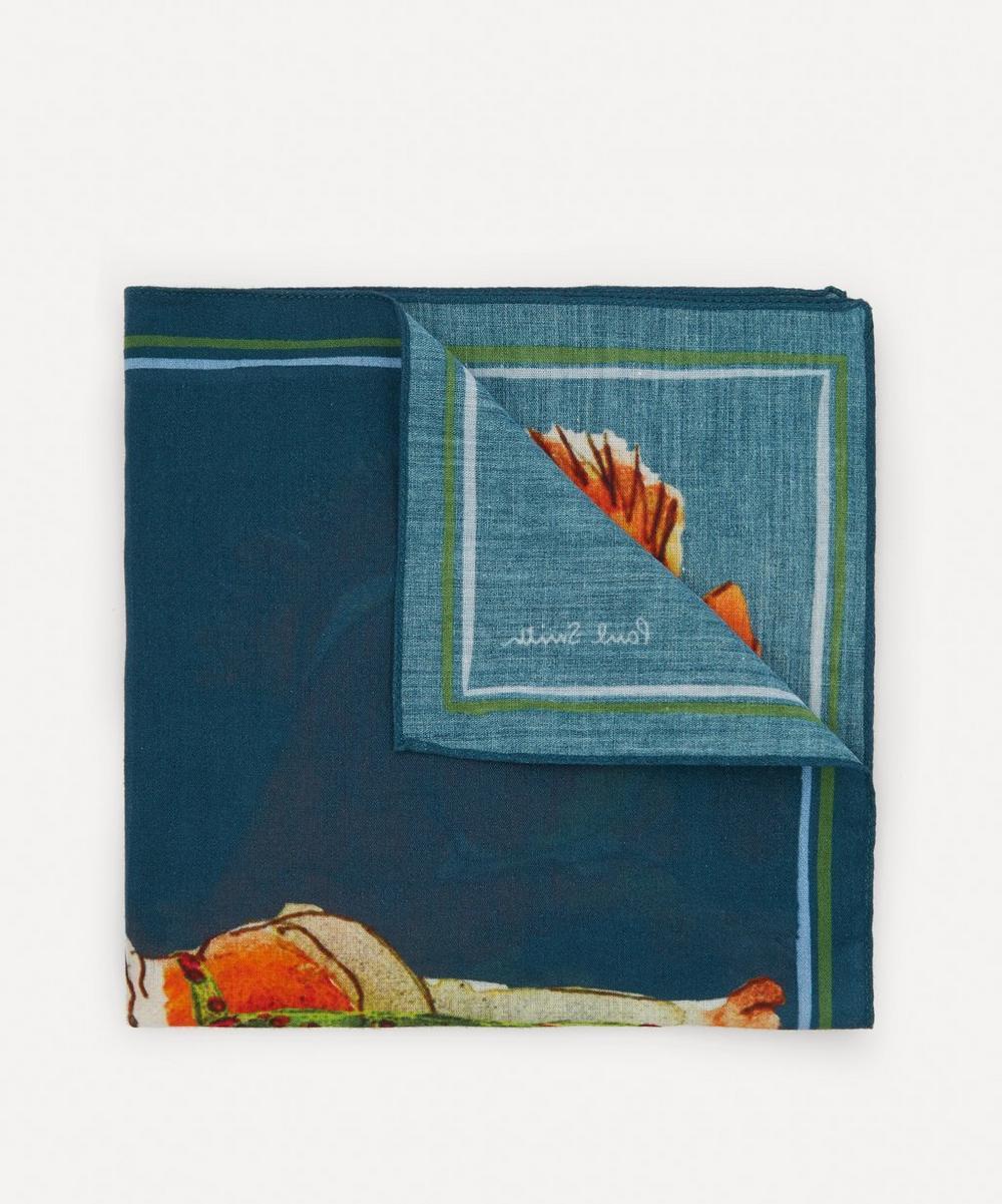 Paul Smith - Printed Cotton Pocket Square