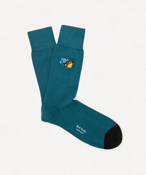 Paint Splatter Socks