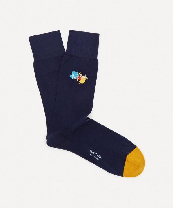 Paul Smith - Paint Splatter Socks