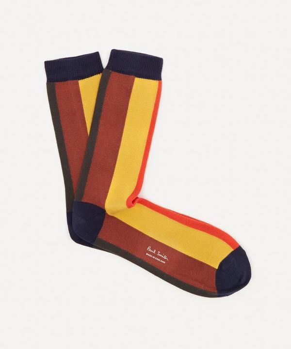 Paul Smith - Painted Stripe Socks