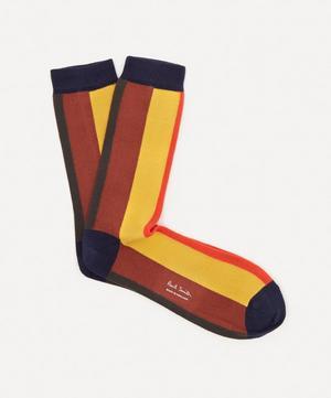 Painted Stripe Socks