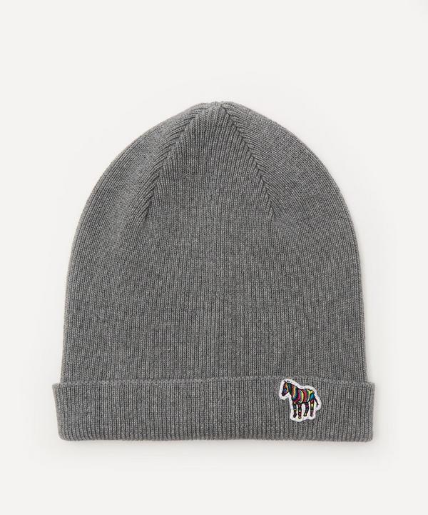 PS Paul Smith - Zebra Patch Beanie Hat