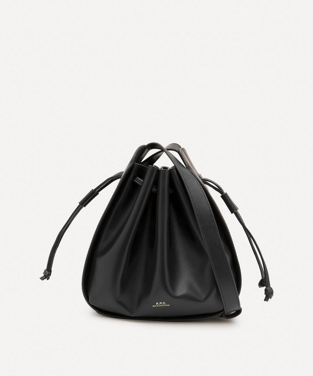 A.P.C. - Courtney Small Leather Bucket Bag