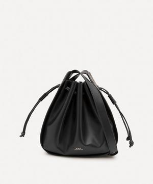 Courtney Small Leather Bucket Bag