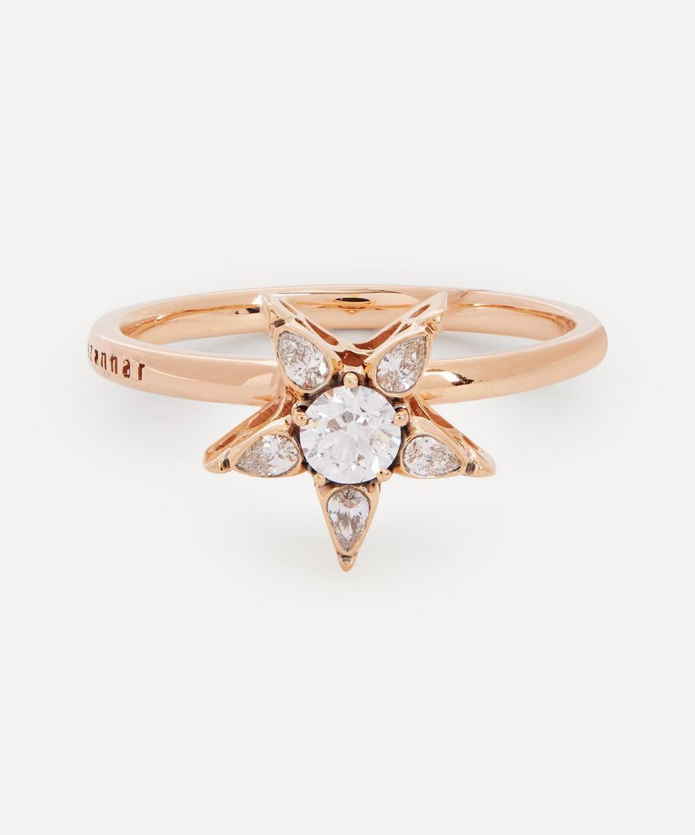 Selim Mouzannar - 18ct Rose Gold Istanbul Diamond Star Ring
