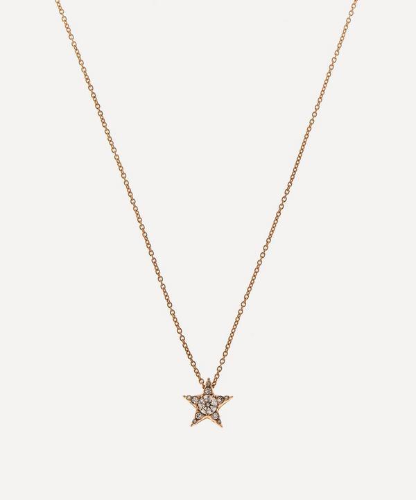 Selim Mouzannar - 18ct Rose Gold Istanbul Diamond Star Pendant Necklace