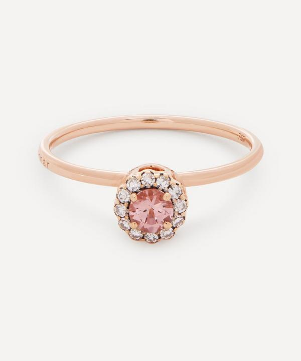 Selim Mouzannar - 18ct Rose Gold Beirut Pink Tourmaline and Diamond Ring