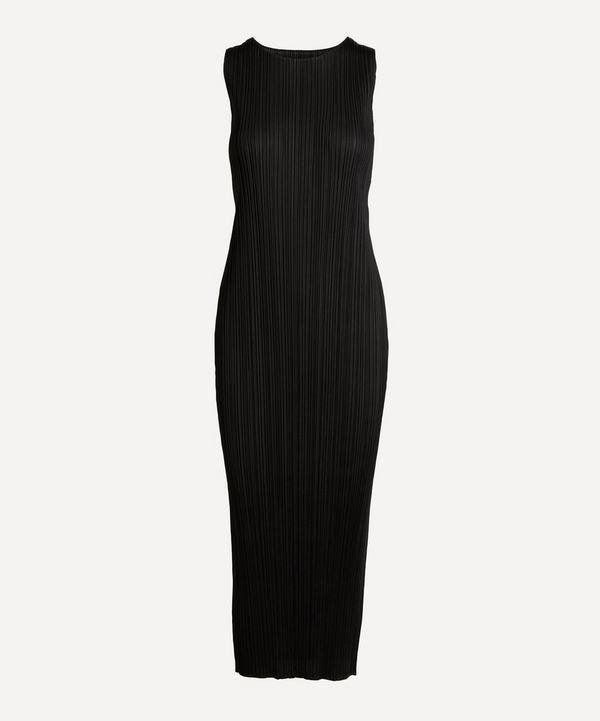 Pleats Please Issey Miyake - Sleeveless Pleated Midi-Dress