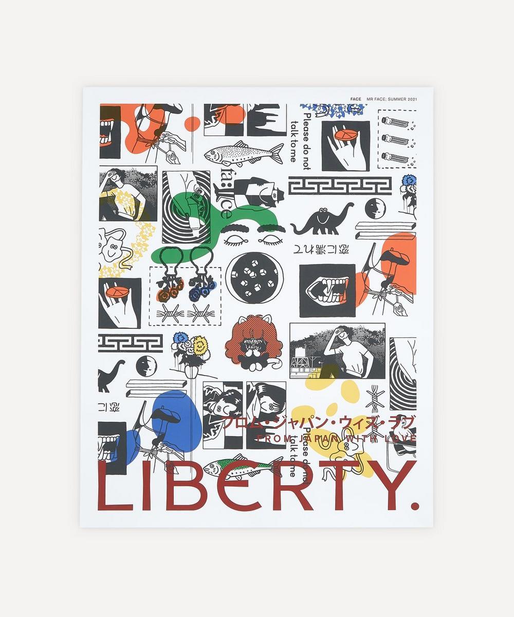 Liberty - Unframed Mr Face Liberty Art Print