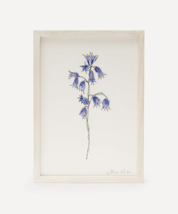 Claire Coles - Traces of Flora: Bluebell Framed Embroidery