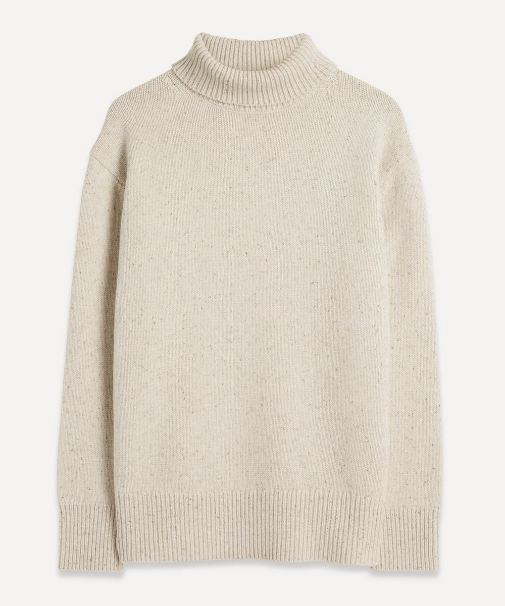 Joseph - Tweed Knit High-Neck Jumper