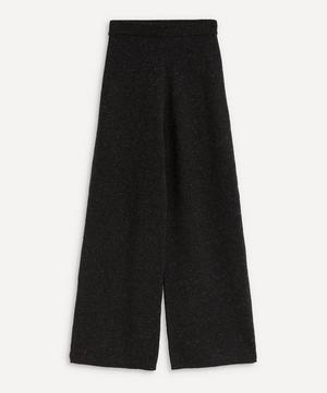 Tweed Knit Trousers