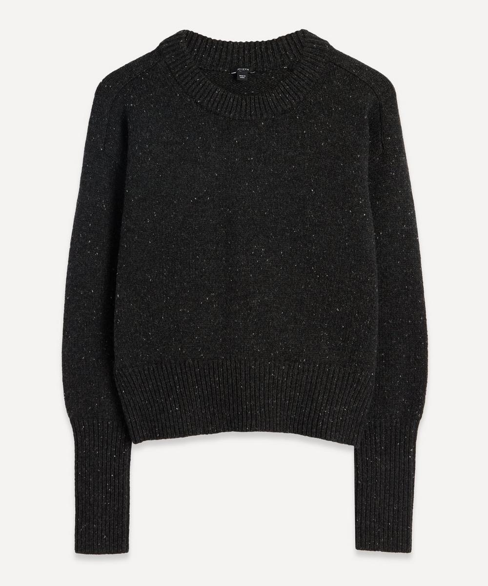 Joseph - Tweed Knit Crew-Neck Jumper