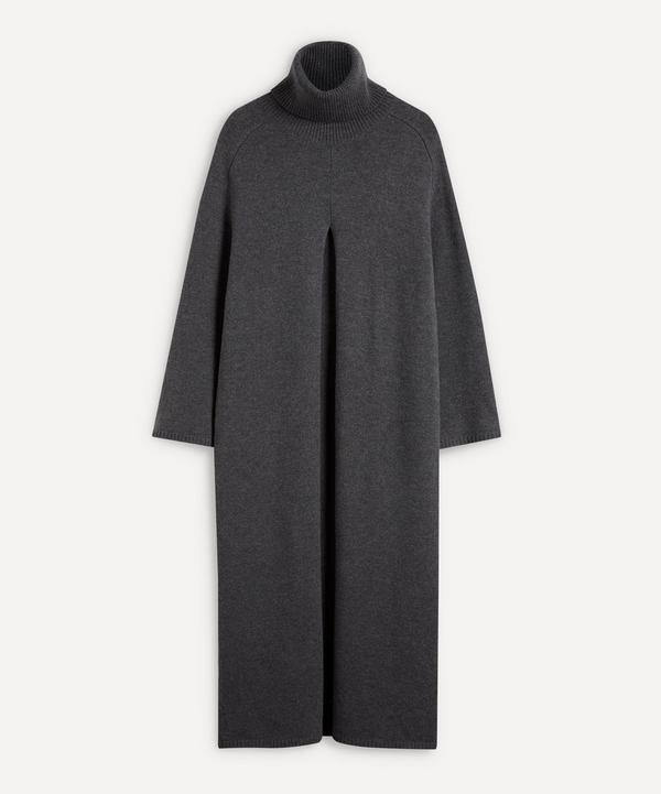 Joseph - Vivian Slit Merino Wool Midi-Dress