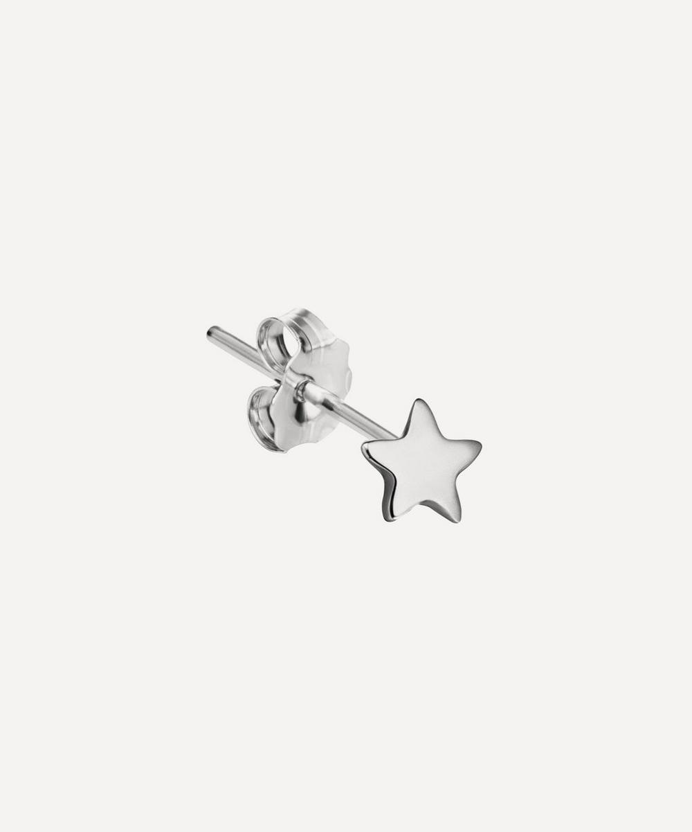 Maria Tash - 14ct Plain Star Single Stud Earring