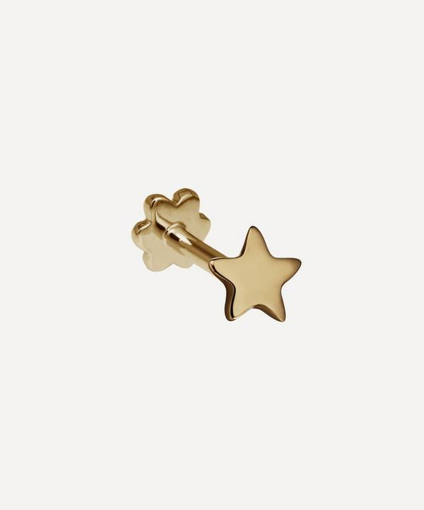Maria Tash - Plain Star Threaded Stud Earring