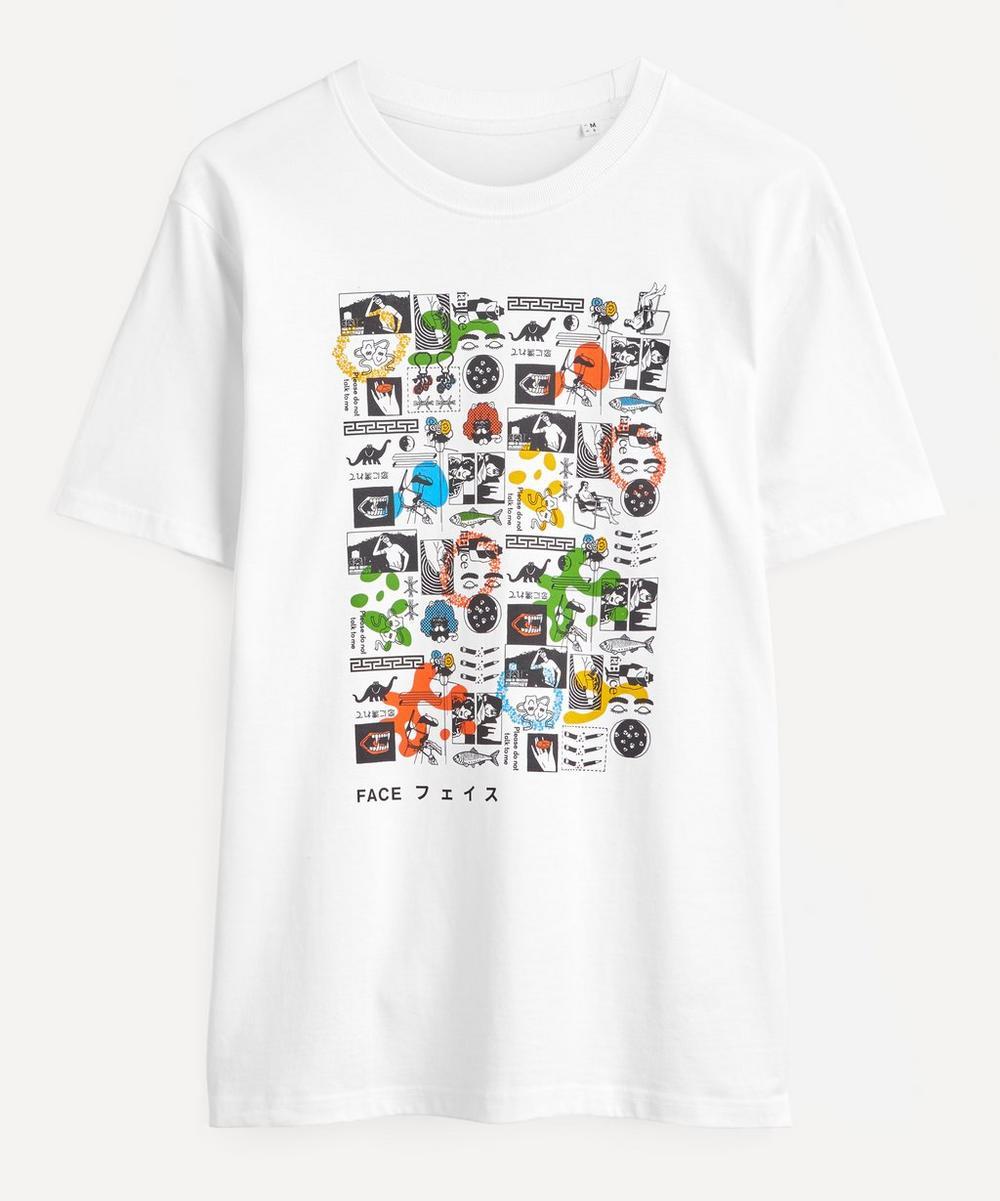 Liberty - Mr Face Organic Cotton T-Shirt