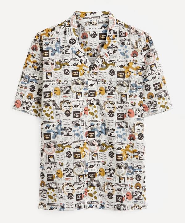 Liberty - Mr Face Tana Lawn™ Cotton Kingly Shirt