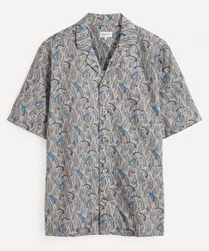 Shiomi Tana Lawn™ Cotton Cuban Collar Casual Shirt